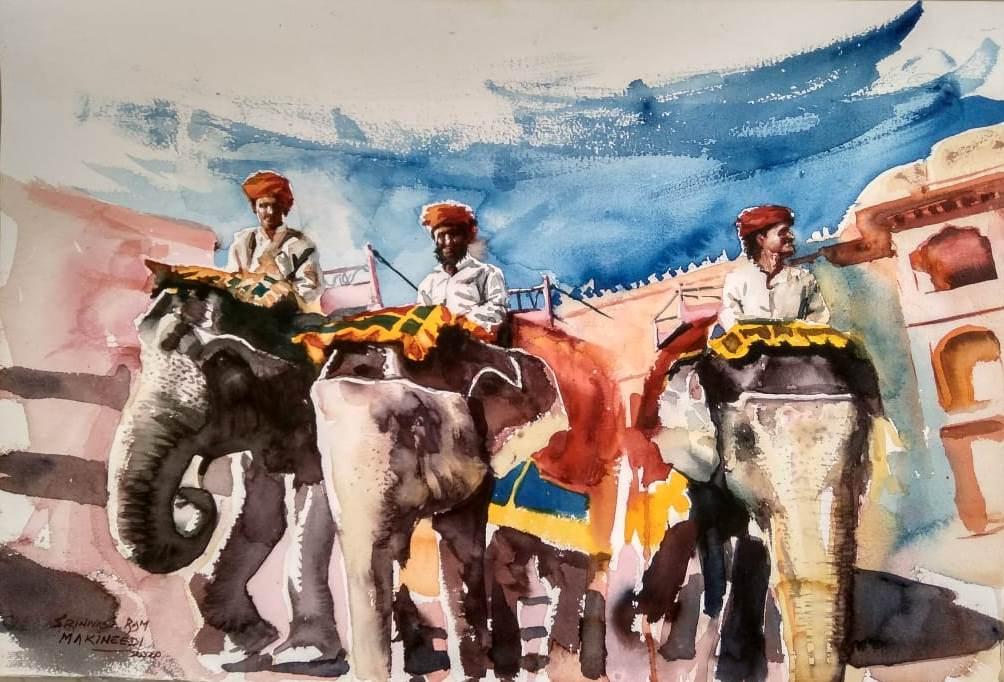 Amber Fort by Sreenivasa Makineedi
