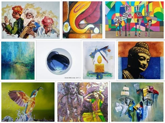 Art Souk collage