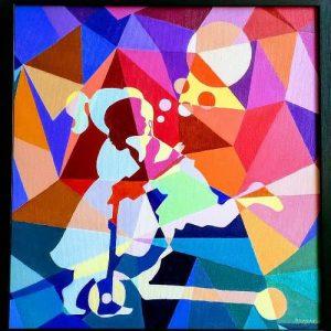 Colourful Childhood by BHARATHI SENTHILVELAN
