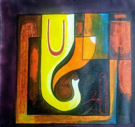 Ganesha 3 by Somya Pathak
