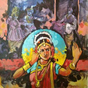 Untitled 3 by N S Kumbar