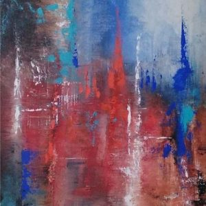 Abstract Landscape 1 by Sarika Singh