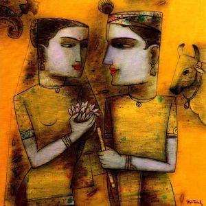 Radhakrishna by Raju Terdal