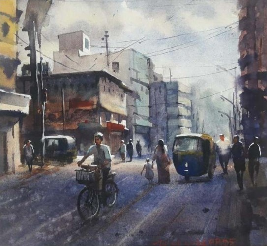 Street 24 by Hemant Magarrde