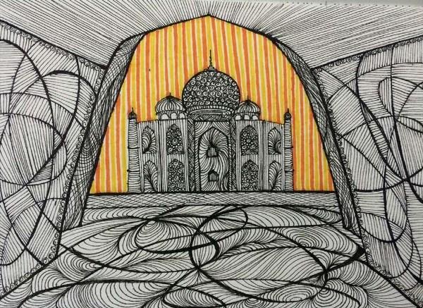 The Taj Mahal By Nishita Baderia