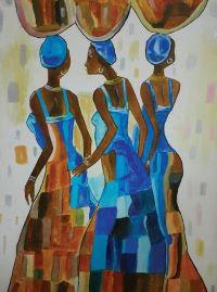 3 African ladies